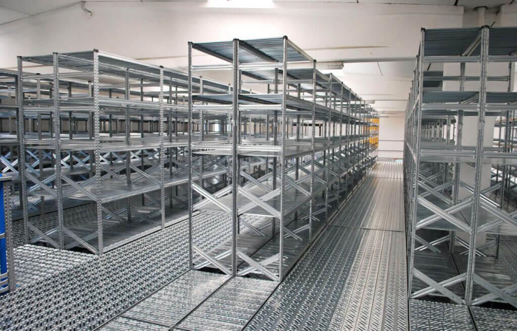 System regałów magazynowych Metalsistem